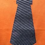 maat 62 oranje met donkerblauwe das 3 klein